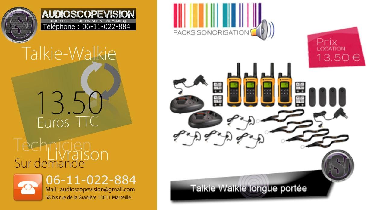 Cherche à louer, à la location, talkie walkie, Marseille, 13, aubagne, Aix en provence