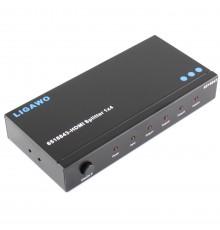 Cherche à louer, à la location, HDMI Splitter, 4 voies 1 entrée 4 sorties, Marseille, 13, aubagne, Aix en provence