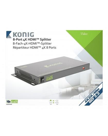 Cherche à louer, à la location, Louer, Location Splitter HDMI Professionnel 8 ports Konig, Aubagne, la Ciotat, Gémenos, Cassis,