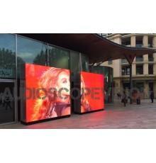 louer location ecran led plein jour extérieur mur led écran géant prix outdoor Panneaux leds Nice Cannes Monaco
