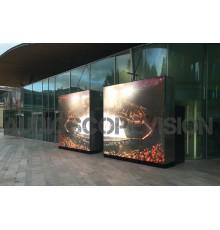 Louer location ecran led plein jour extérieur mur led écran géant prix outdoor cinéma plein air Avignon, Grenoble, Lyon, Salon d