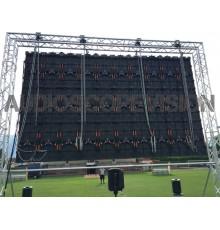 Louer location ecran led plein jour extérieur mur led écran géant prix outdoor Panneaux leds Avignon, Grenoble, Lyon, Salon de P