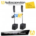 Location Pack sono 1260W RMS colonne design type line array Bluetooth Roquevaire Aubagne