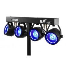 Cherche à louer à la location projecteurs Leds avec pied jeu de lumière barre équipée de par led pour soirée Marseille Roquevair